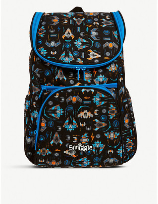 Selfridges Good Vibes Access graphic-print woven backpack