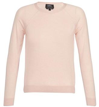 A.P.C. Lilas sweatshirt