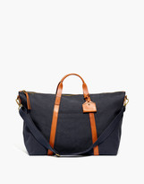 Madewell The Essential Overnight Bag in Canvas