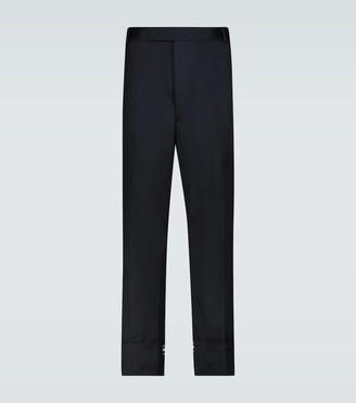Thom Browne Straight-leg cotton pants