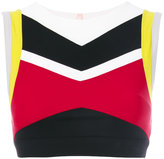 NO KA 'OI No Ka' Oi - Lani cropped top - women - Polyamide/Polyester/Spandex/Elastane - 0