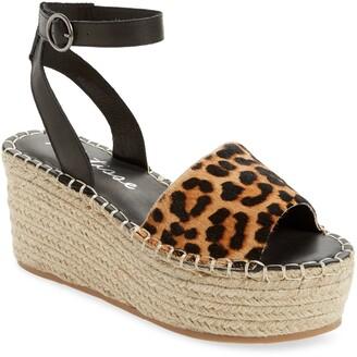 Matisse Trapeze Ankle Strap Platform Sandal