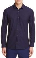 HUGO Jacquard Stripe Slim Fit Button Down Shirt
