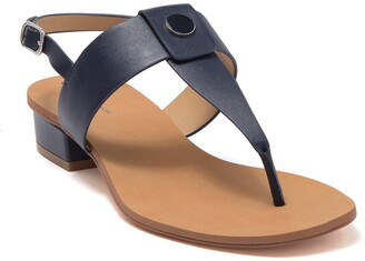 14th & Union Angelika Thong Toe Heeled Sandal