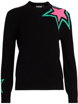 27 Miles Malibu Harlene Star-Pattern Cashmere Sweater
