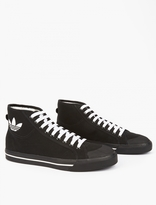 Adidas By Raf Simons Black Matrix Spirit High Sneakers