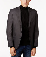 Kenneth Cole Reaction Men's Slim-Fit Black/Gray Micro-Check Sport Coat