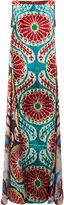 Afroditi Hera patterned maxi dress - women - Silk/Polyester/Viscose - 44