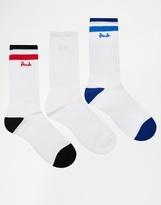Pringle Crew Socks - White