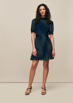 Gianna Ombre Dobby Dress