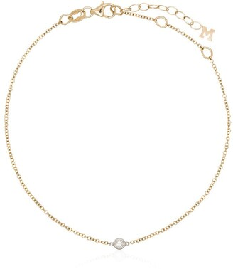 Mateo 14K yellow gold single diamond bracelet