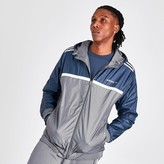 adidas Men's Linear Reverse Windbreaker Jacket
