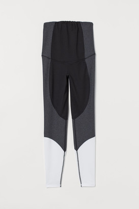 H&M MAMA Sports Leggings - Black