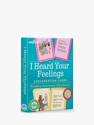 Eeboo I Heard Your Feelings Conversation Cards