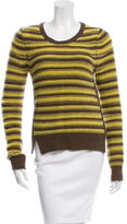 Thakoon Wool & Cashmere-Blend Striped Sweater