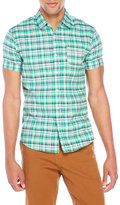 Scotch & Soda Short Sleeve Check Shirt