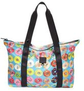 Terez Donut-Print Collapsible Tote
