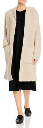 Eileen Fisher Hooded Long Cardigan