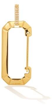 EÉRA Chiara Diamond & 18kt Gold Single Earring - Yellow Gold