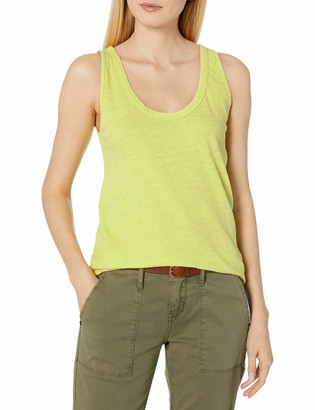 Velvet BY GRAHAM & SPENCER Women's Joy Scoopneck Tank