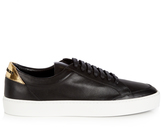 Burberry Salmond leather trainers