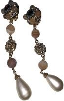 Chanel Baroque Multicolour Metal Earrings