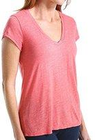 Michael Stars Women's Brooklyn Jersey Short-Sleeve V-Neck T-Shirt