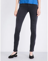 J Brand 811 pintuck skinny mid-rise jeans