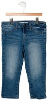 Joe's Jeans Girls' Cropped Straight-Leg Jeans
