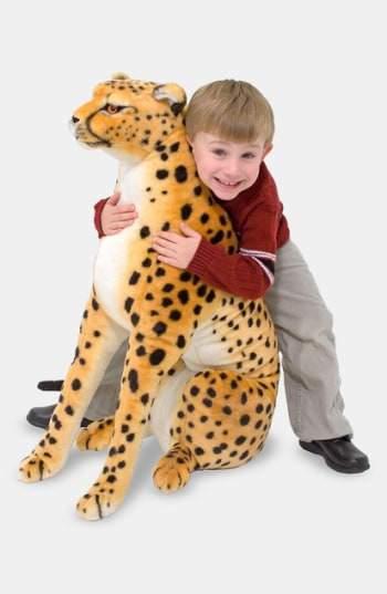 Melissa & Doug Toddler Plush Cheetah Stuffed Animal