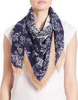 Collection 18 Floral Skull Scarf