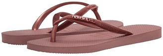 Havaianas Slim Velvet Flip-Flops (Black) Women's Sandals