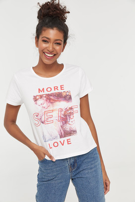 Ardene Graphic Tee More Self Love