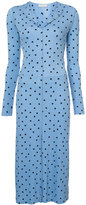 Nina Ricci polka dot dress