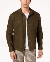 Tasso Elba Men's Linen Shirt Jacket, Created for Macy's