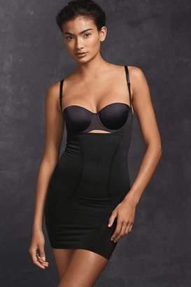 Next Womens Black Firm Control Wear Your Own Bra Slip - Black