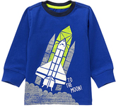 Gymboree Blue Shuttle 'To the Moon' Tee - Infant