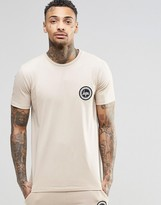 Hype T-Shirt With Crest Logo