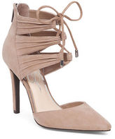 Jessica Simpson Caleya Kid Suede Leather Pumps