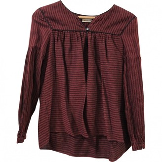 Masscob \N Red Cotton Top for Women