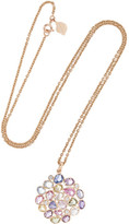 Amrapali 18-karat Gold, Sapphire And Diamond Necklace - one size