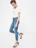 Mother Stunner Zip Ankle Step Fray - Good Girls Do