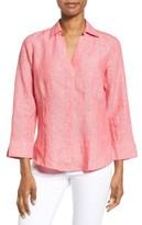 Foxcroft Women's Linen Chambray Shirt