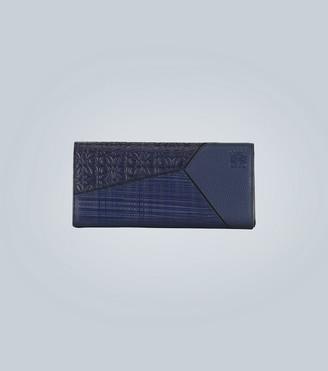 Loewe Puzzle long horizontal wallet