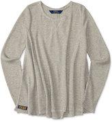 Ralph Lauren Waffle-Knit Top, Big Girls (7-16)