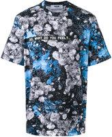 MSGM floral print T-shirt - men - Cotton - L
