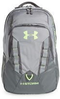 Under Armour Boy's 'Recruit' Water Resistant Backpack - Grey