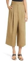 Tibi Women's Hessian Linen Crop Pants