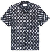 Folk Gabe Slim-Fit Checked Cotton Shirt