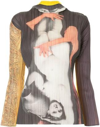 Issey Miyake Pre-Owned Yasumasa Morimura series blouse